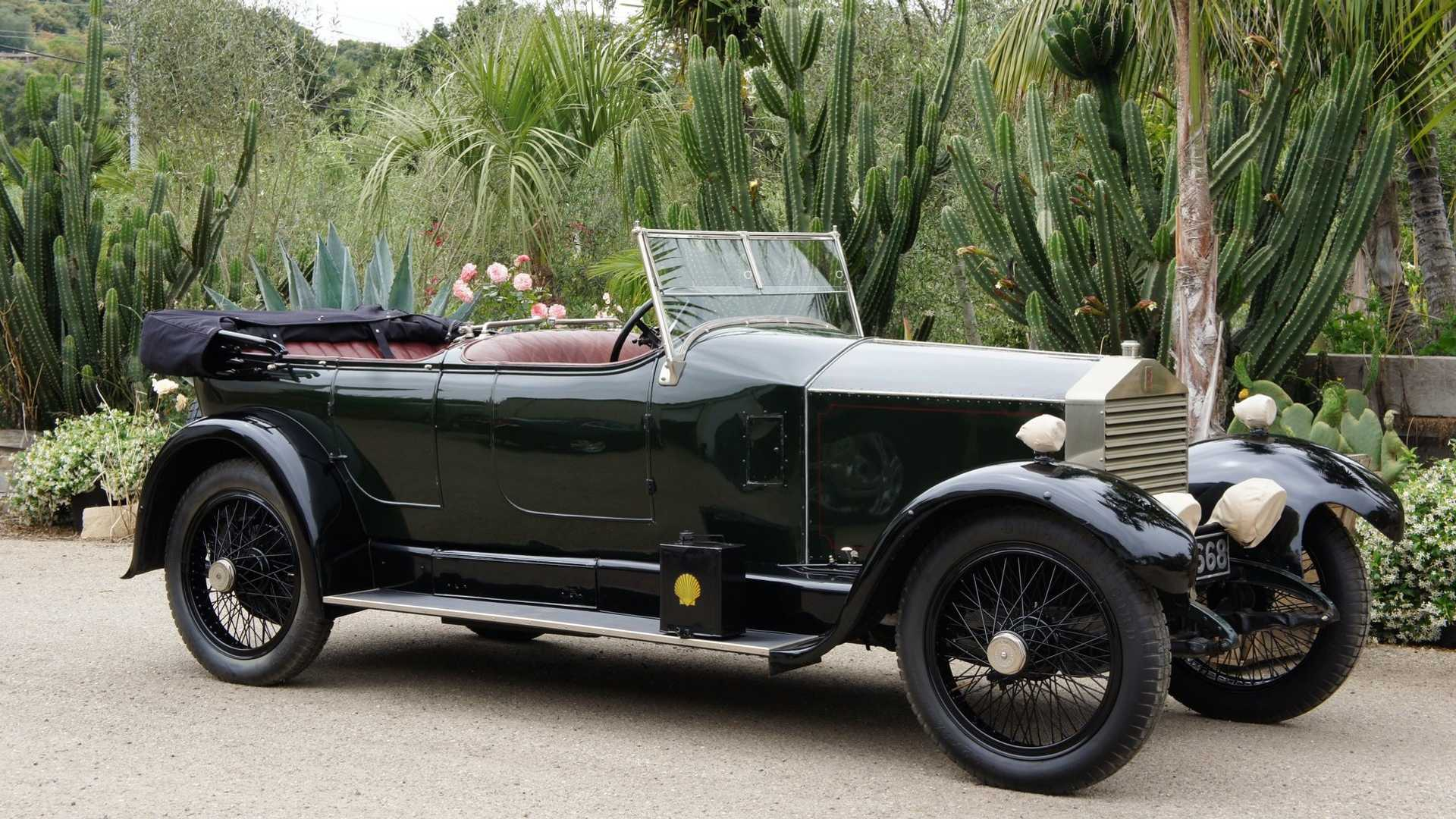 "[""1923 Rolls-Royce Twenty Dual-Windshield Tourer Up For Auction""]"