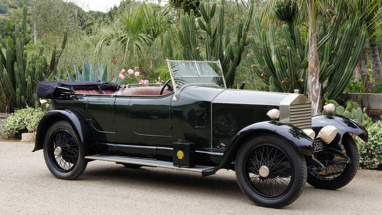 1923 Rolls-Royce Twenty Dual-Windshield Tourer Up For Auction