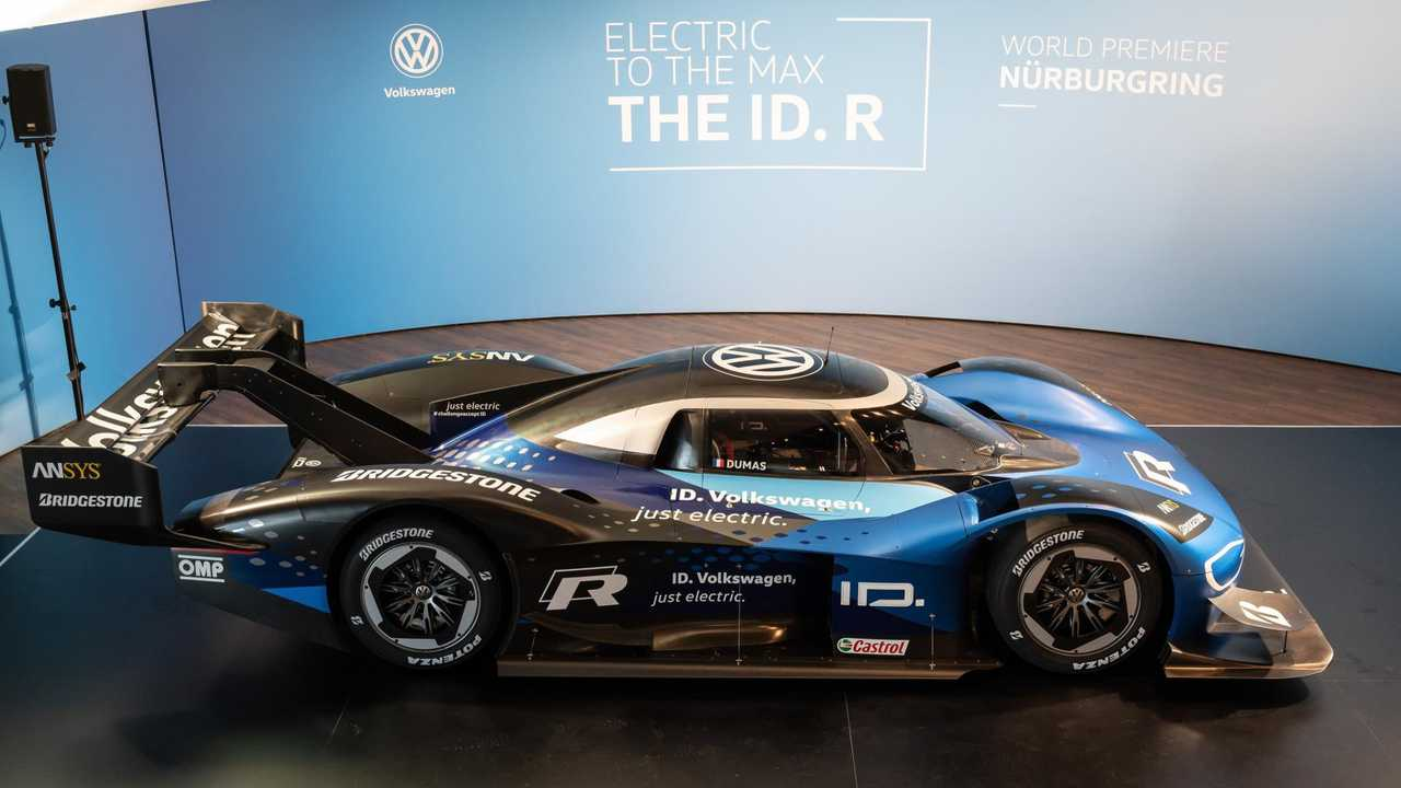 VW I.D. R prototype for Nordschleife record drive