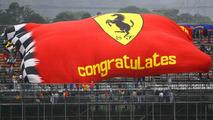 Scuderia Ferrari, fans flag, Brazilian Grand Prix, 31.10.2008 Sao Paulo, Brazil