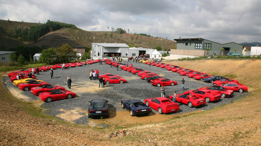 80 Ferraris in One Place - It Must be Love