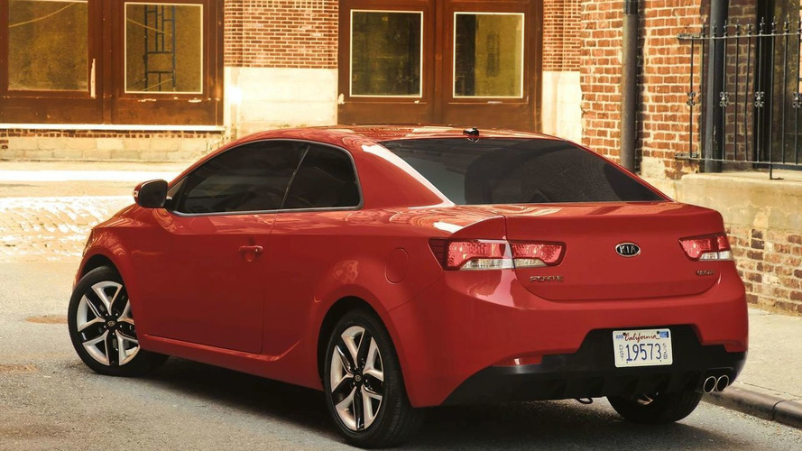2010 Kia Forte Koup World Premiere in New York - Production Ready
