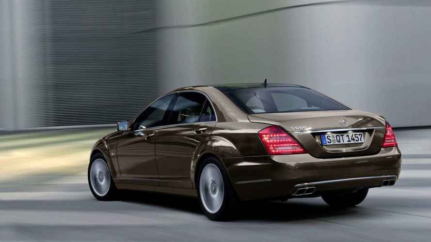 New Mercedes S-Class W221 2009