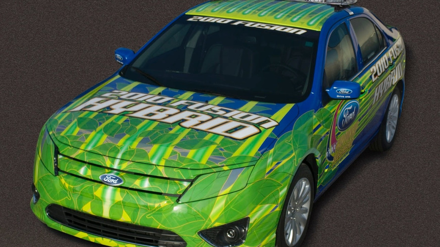 2010 Ford Fusion Hybrid to Pace NASCAR Sprint Cup