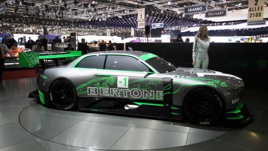 Bertone Jaguar B99 Gt Concept Live In Geneva 673 01032011
