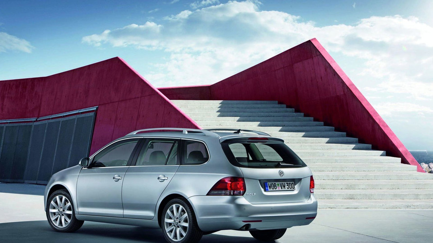 New 2010 VW Golf VI Wagon Revealed