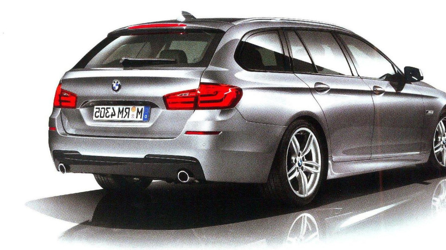 2011 BMW 5-Series Touring M-Sport package brochure leak