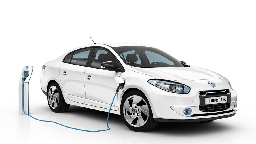 Renault Fluence Z.E. and Kangoo Van Z.E. Production Versions Revealed