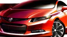 Honda Civic Concept preview illustration 13.12.2010