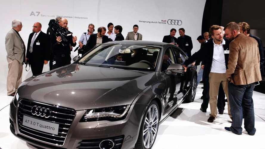 2011 Audi A7 Sportback debuts in Paris