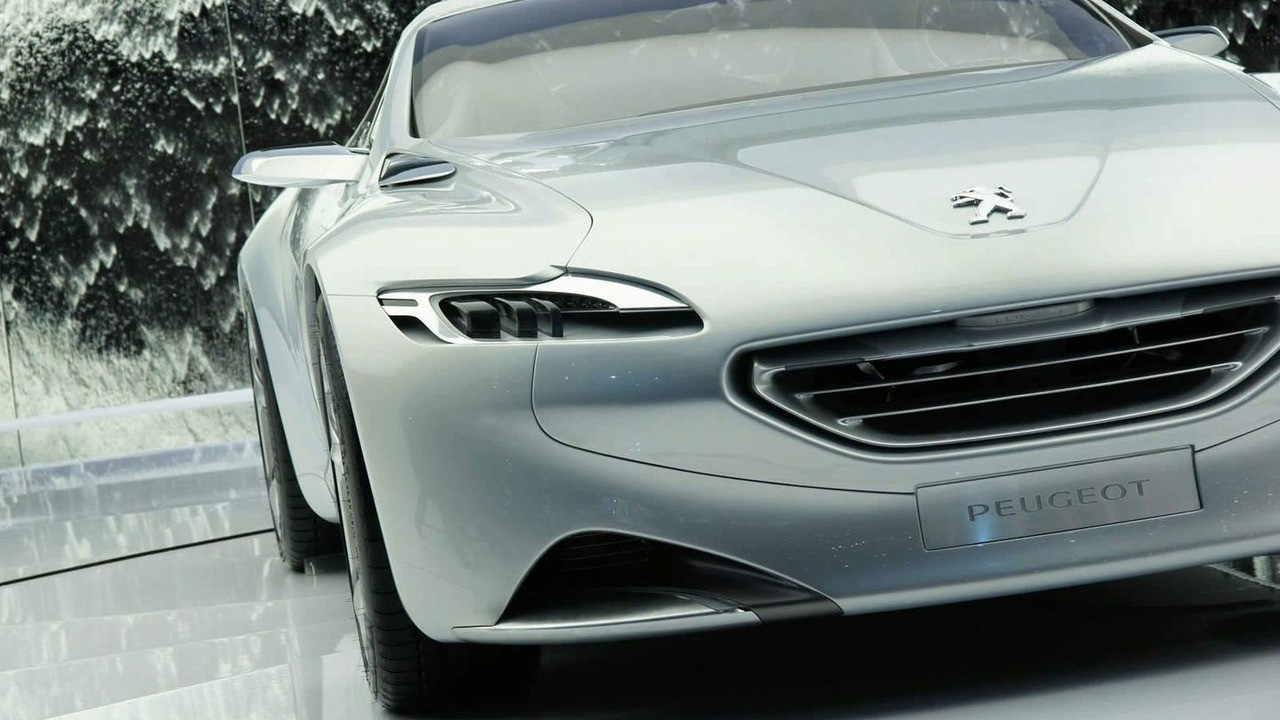 Peugeot SR1 koncepcióautó Genfben