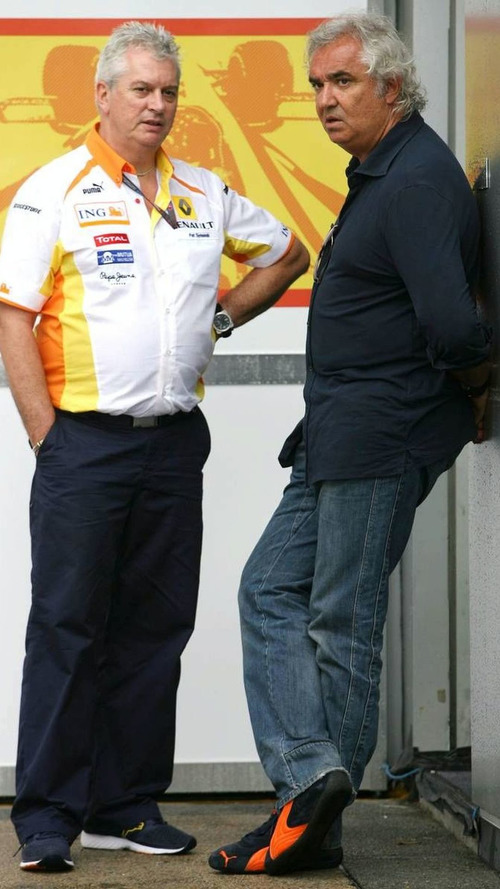 Briatore, Symonds, leave Renault team