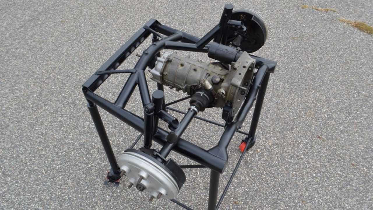 4-speed gearbox from Porsche 550 Spyder for sale
