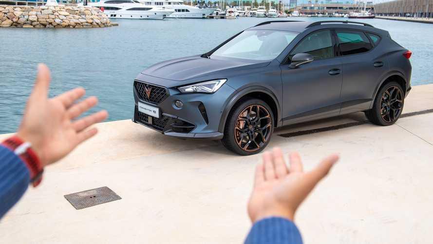 CUPRA Formentor VZ5: así es la versión más deportiva del SUV