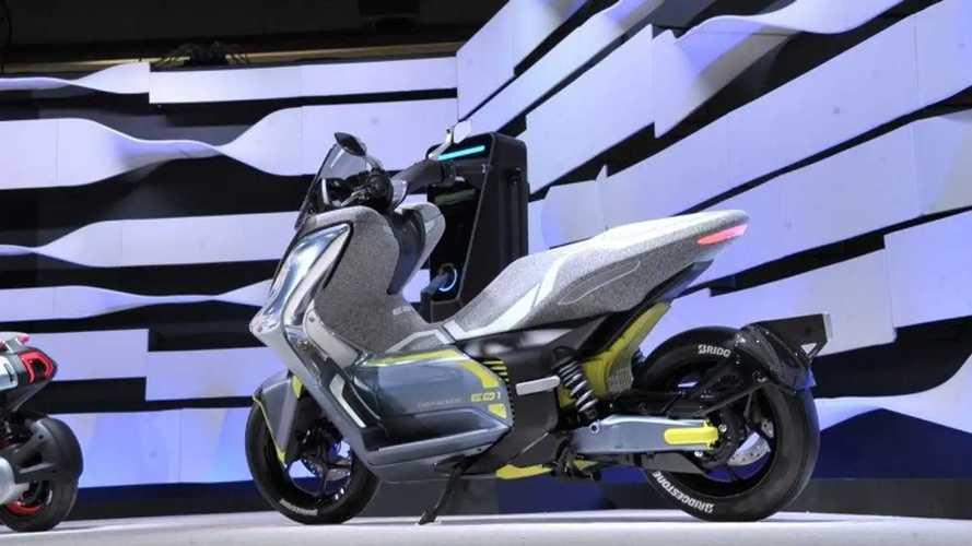 Yamaha E01 è lo scooter elettrico per tutti? Arriva entro l'anno
