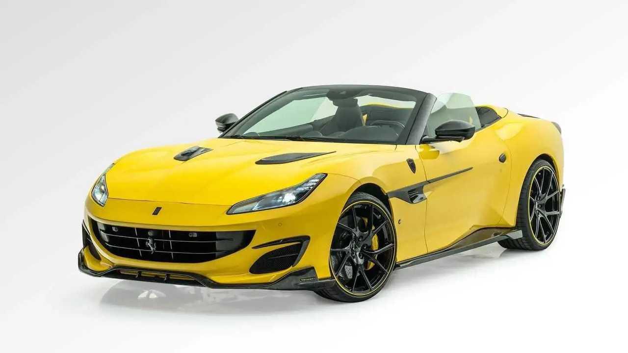 Ferrari Portofino tuning by Mansory