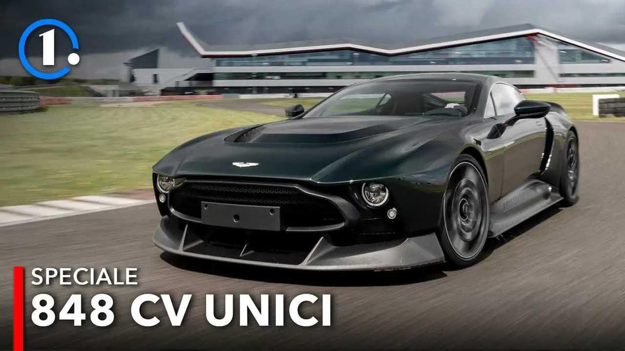 Aston Martin Victor prova