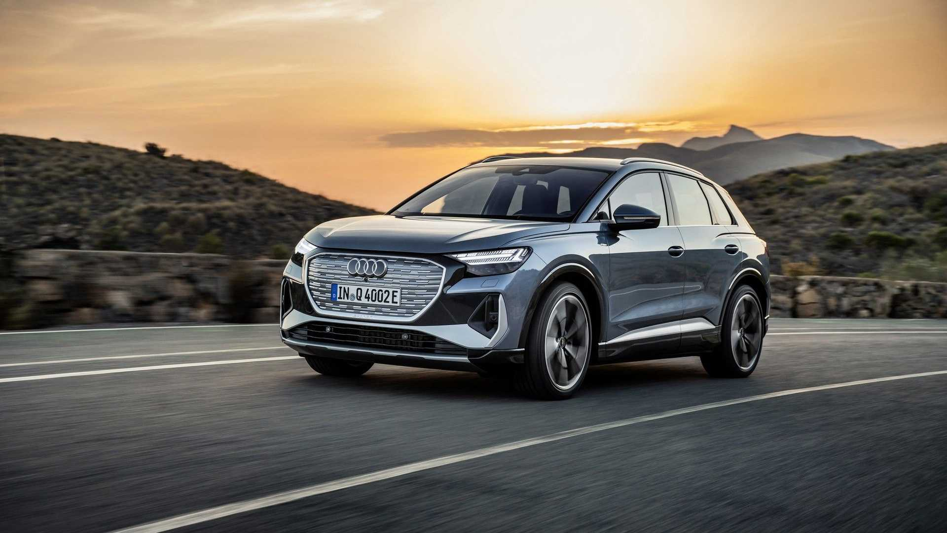 Audi Q4 E-Tron Shows Up As A More Luxurious VW ID.4  image