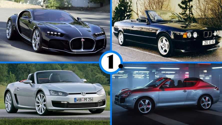 Diaporama - Ces voitures inconnues étaient sur le point d'être produites