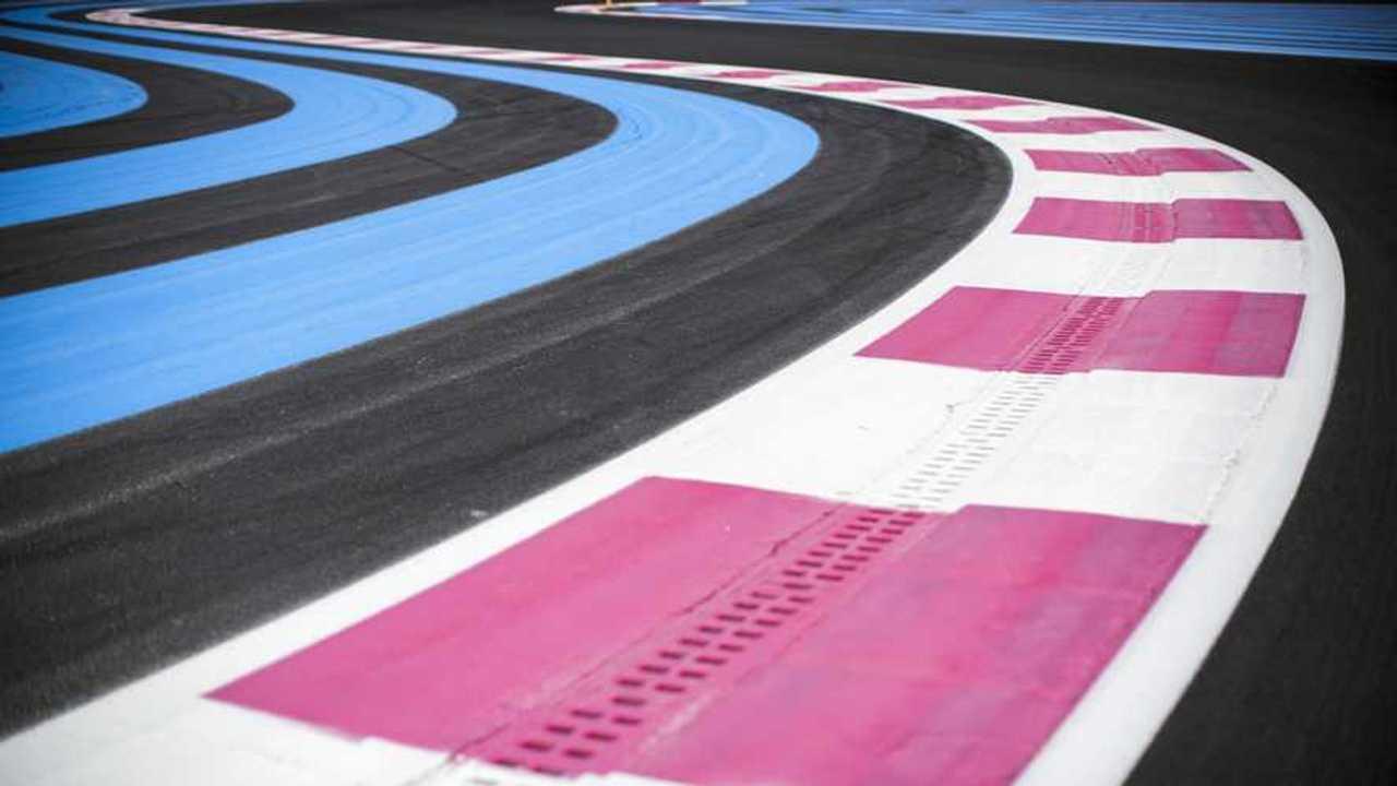 Curb Detail Paul Ricard