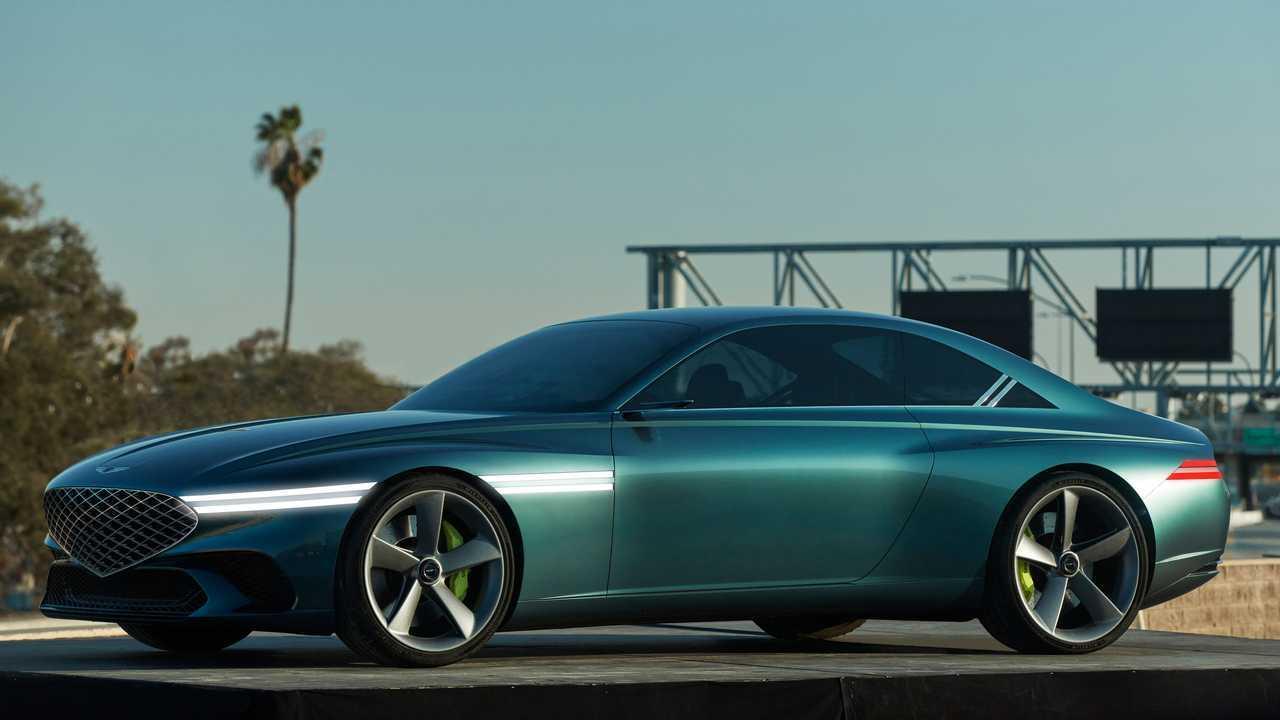 Genesis X Concept Front Quarter