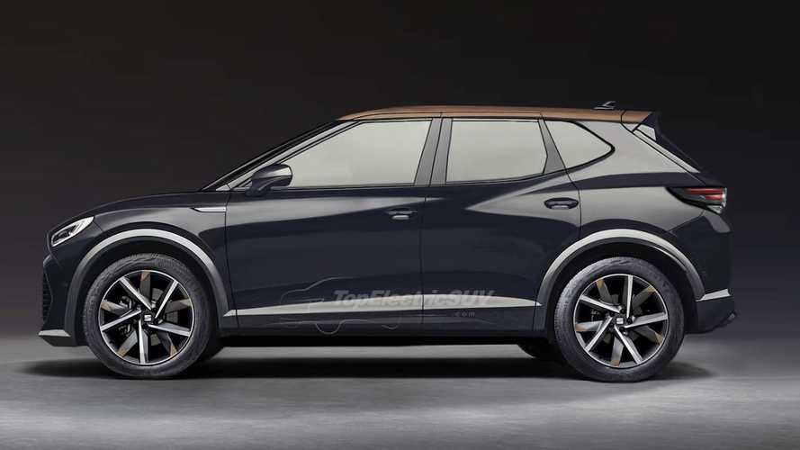 Upcoming Seat electric mini-SUV believably rendered based on teaser