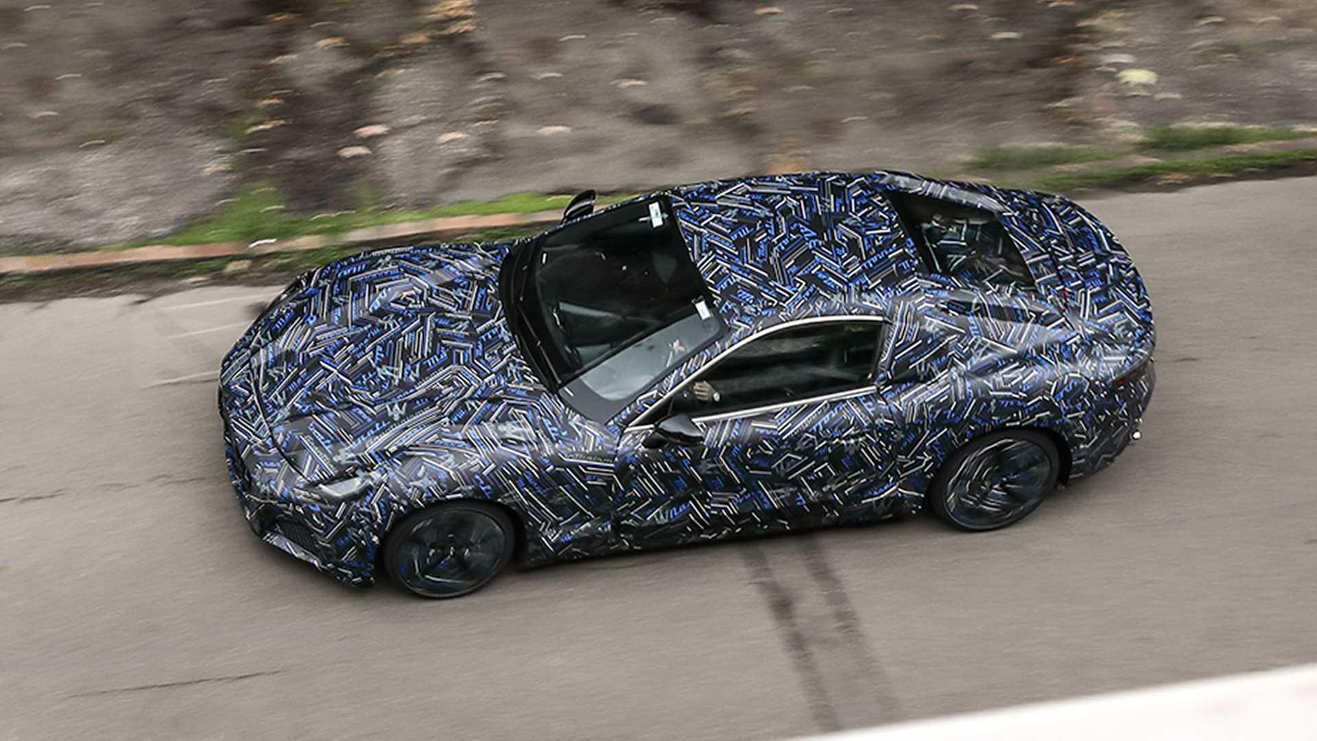 2022 Maserati GranTurismo Teaser imágenes