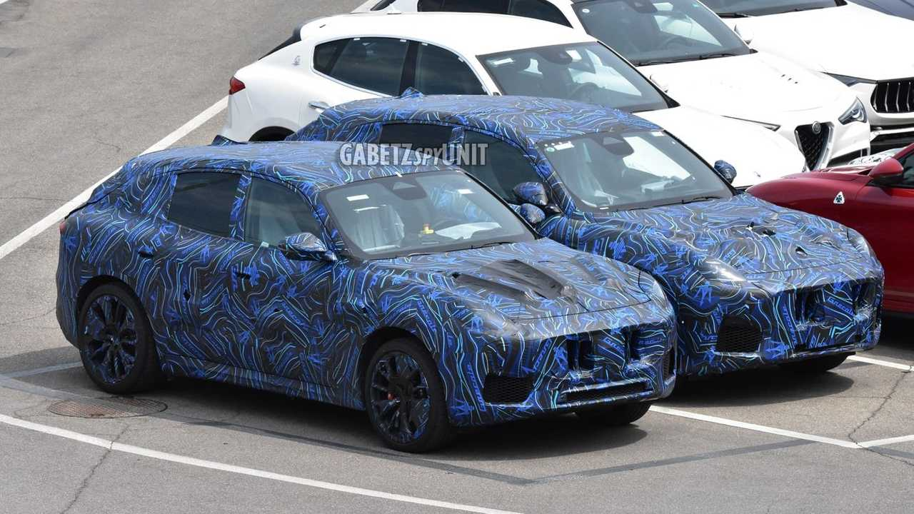 Maserati Grecale, le foto spia dei prototipi