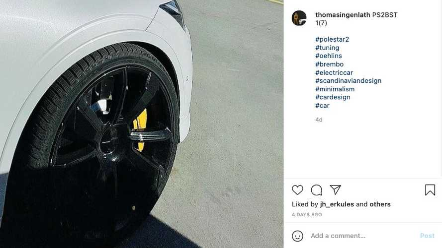 Did Polestar Just Tease A Hotter Version Of The Polestar 2 EV?