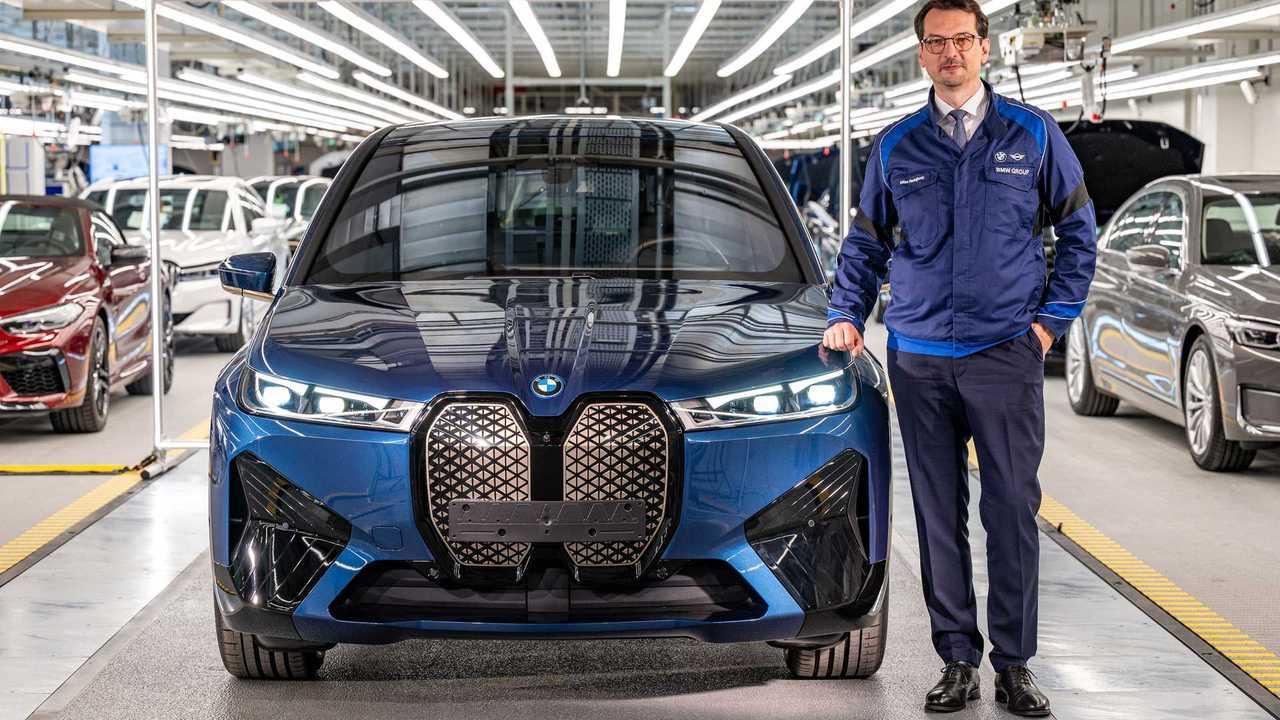 BMW iX - início de produção