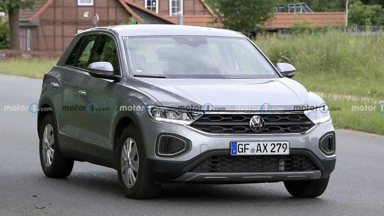 Erlkönig des VW T-Roc zeigt das Facelift