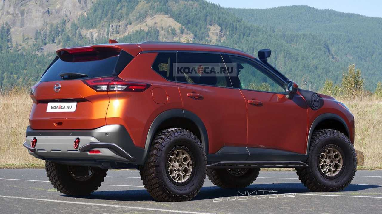 Nissan Rogue Off-Roader Unofficial Rendering Rear