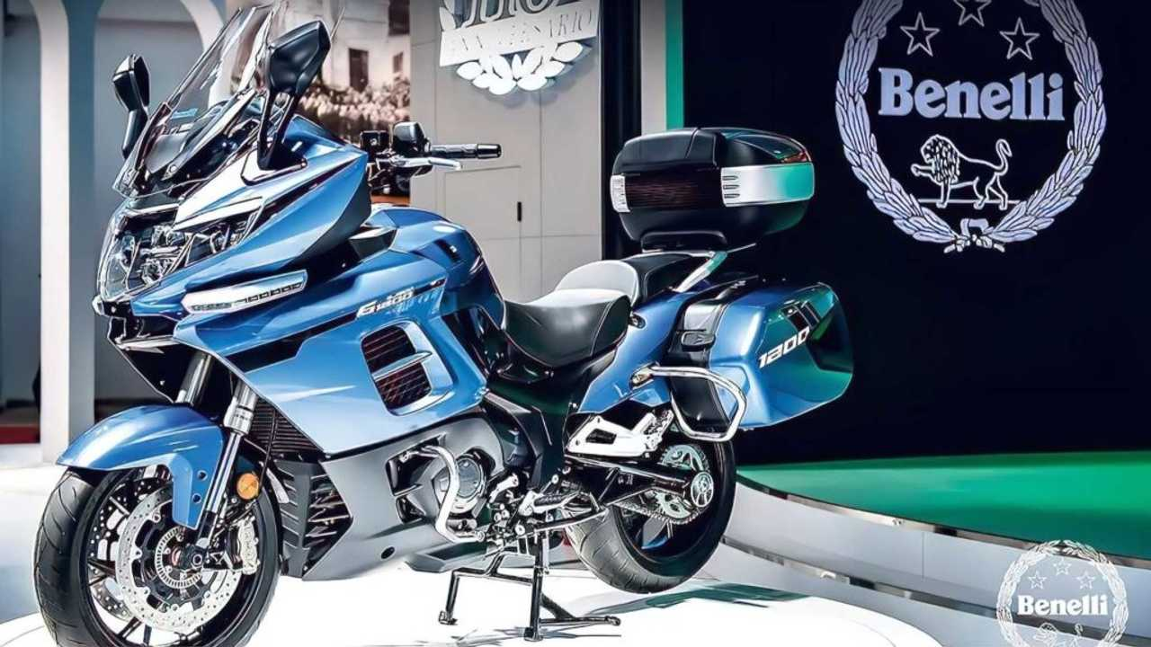 Benelli 1200GT mulai debut di Cina.