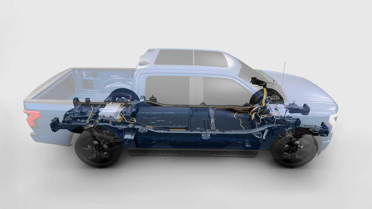 2022 Ford F-150 Lightning Cutaway