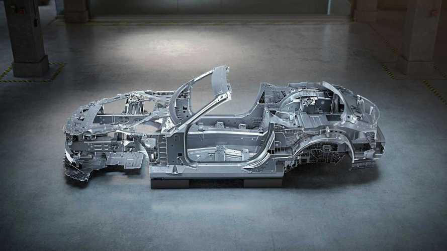 Nuova Mercedes-AMG SL, la scocca