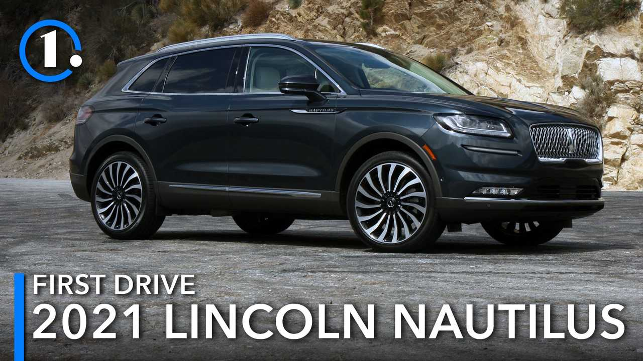 2021 Lincoln Nautilus First Drive