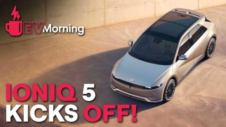 EV Morning News: Hyundai Debuts Ioniq 5, Taycan Cross Turismo Revealed, More