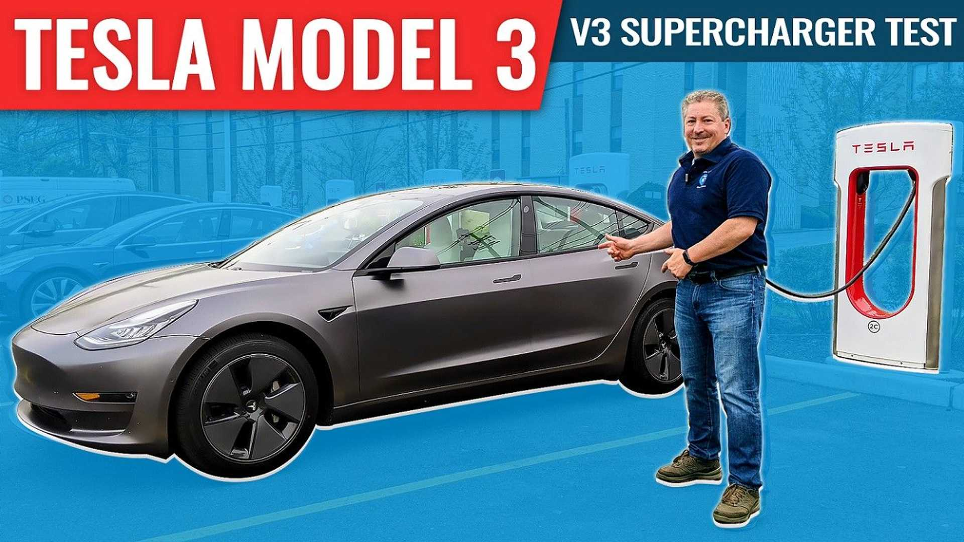 How Fast Does A 2021 Tesla Model 3 Charge? We Find Out