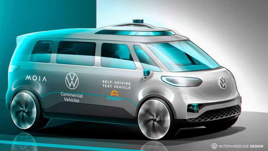Volkswagen, Argo IA e Moia - condução autônoma