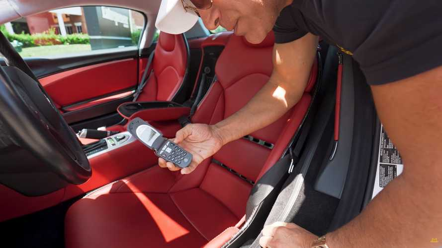 Man buys his sixth Mercedes SLR, complete with period-correct flip phone