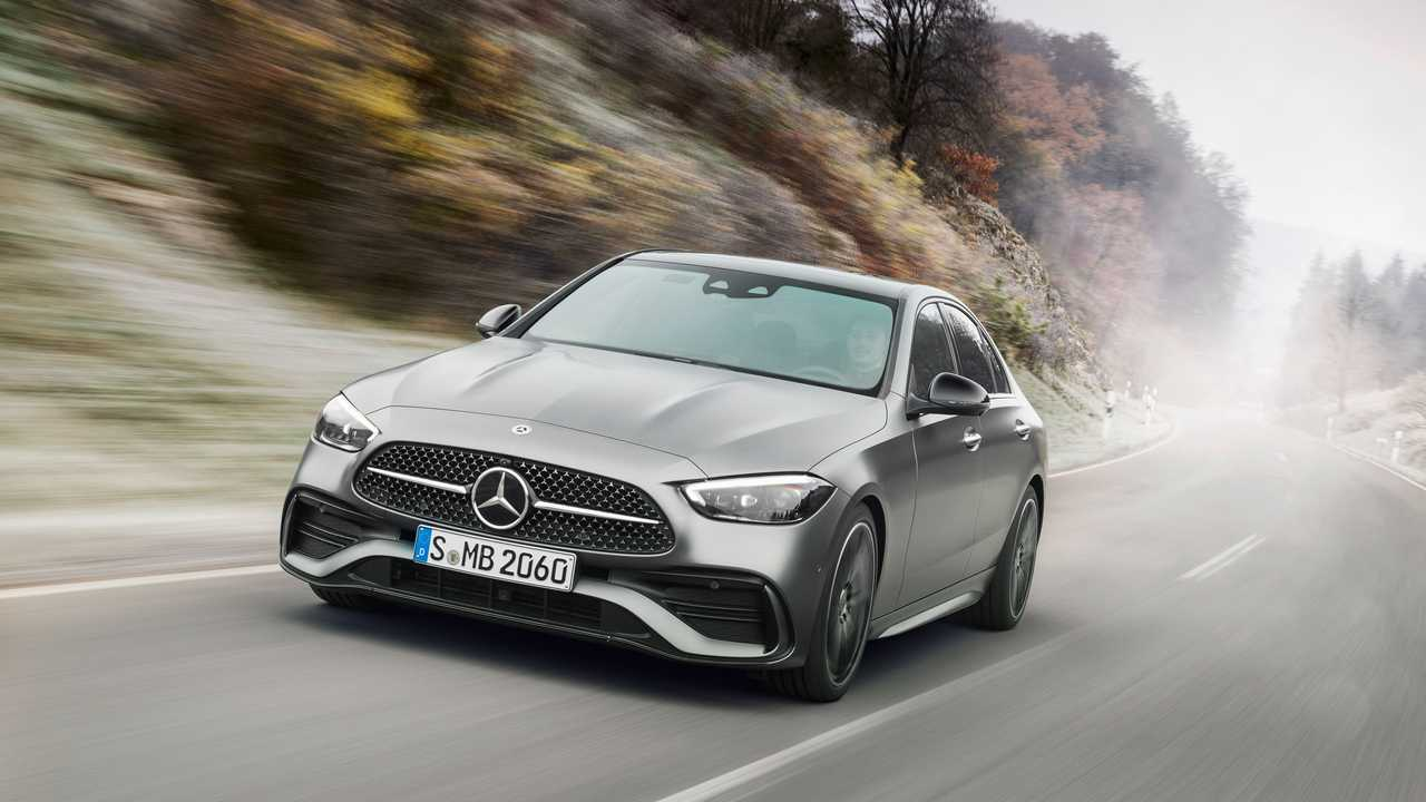 New Mercedes-Benz C-Class Plug-In Has A 62-Mile Electric Range
