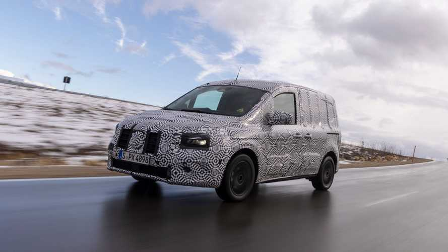 Mercedes-Benz Teases Its New Electric Van: eCitan
