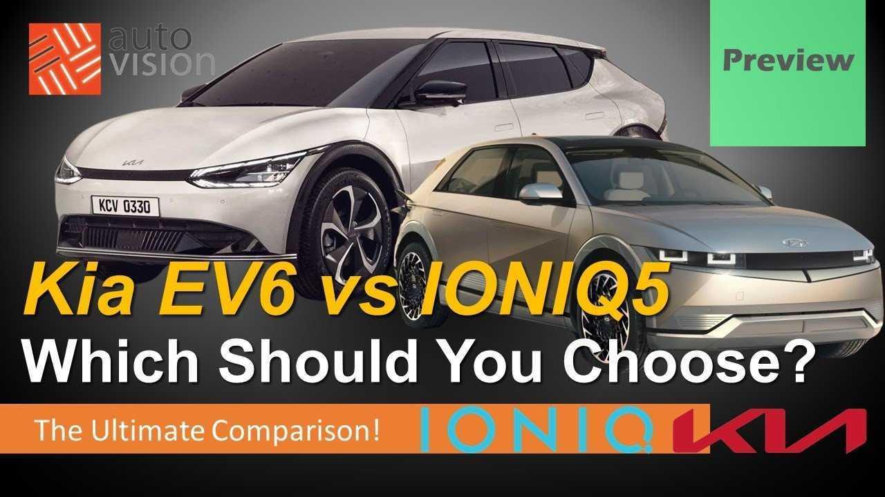 This Video Compares The Hyundai Ioniq 5 To The Kia EV6