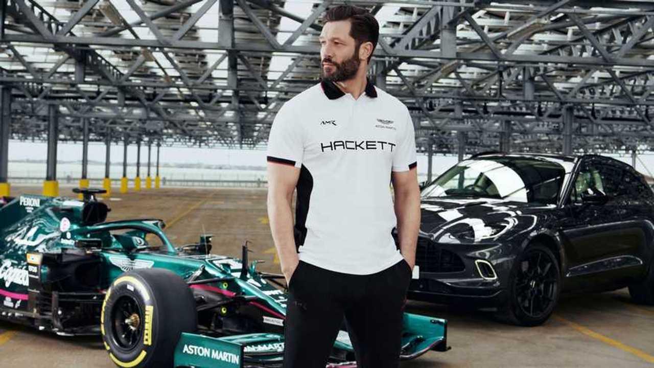 Aston Martin y Hackett London renuevan colaboración en F1 2021