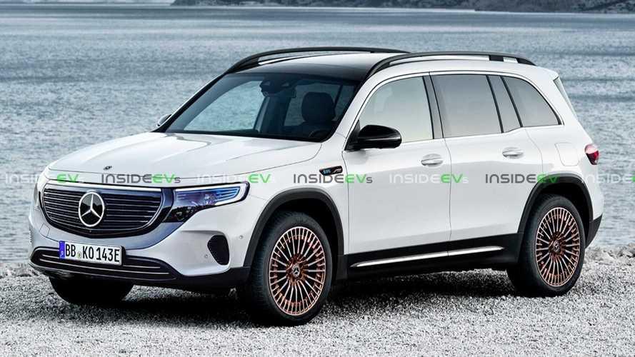 Rendering nails upcoming Mercedes-Benz EQB's look