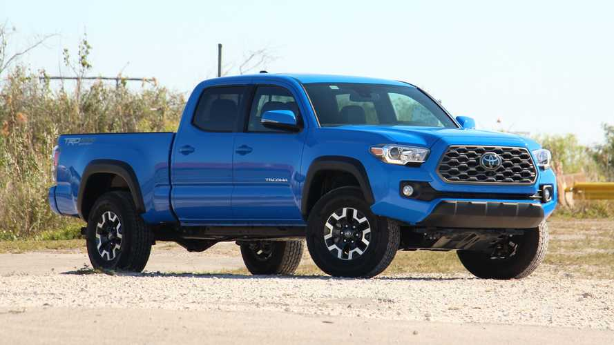 2021 Toyota Tacoma TRD Off-Road: Driving Notes