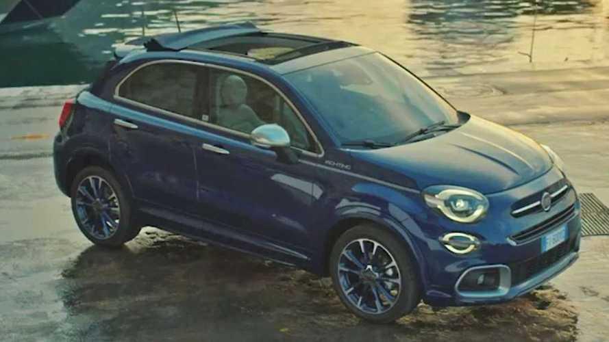 Fiat 500X Yachting Teaser Screenshots
