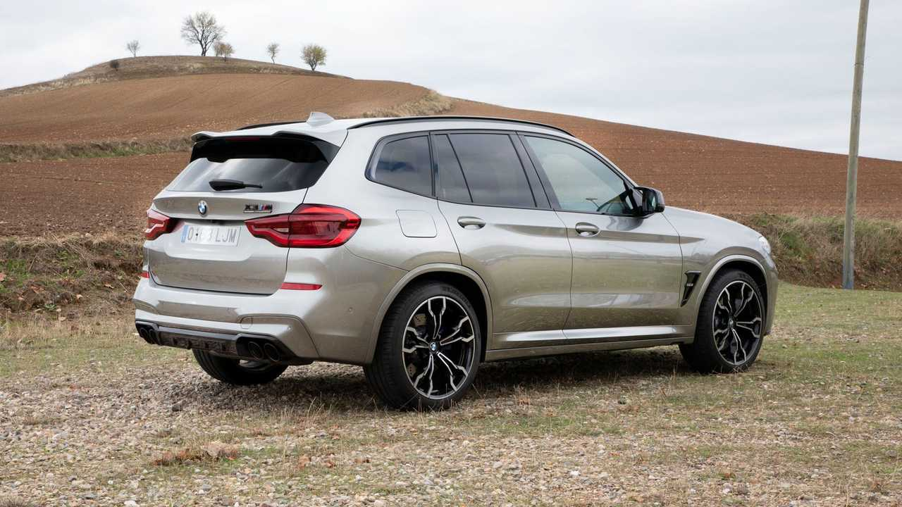 Prueba BMW X3 M Competition 2021