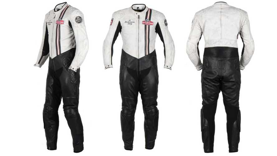 French Gear Supplier Helstons Releases One-Piece Retro Race Suit