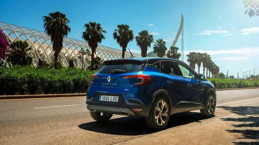 Renault Captur E-TECH Híbrido 2021, prueba